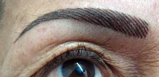 Edda Garcia Permanent Makeup Eyebrow Procedure