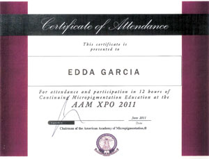 AAM Xpo Certificate of Attendance
