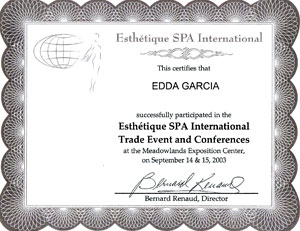Esthetique SPA International